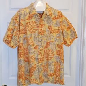 Columbia Tropical / Hawaiian Shirt, Mens XXL